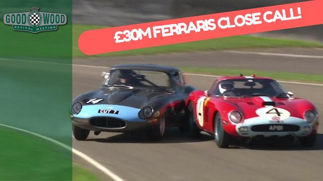 画像: Jaguar E-Type Narrowly Misses £30million Ferrari! youtu.be