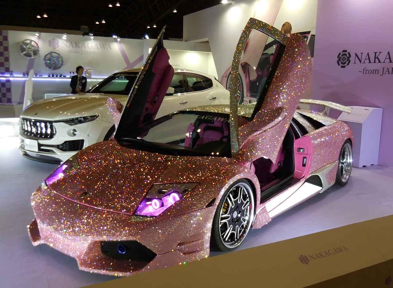 画像: ベース車:Lamborghini Murcielago (GH-BC10E)