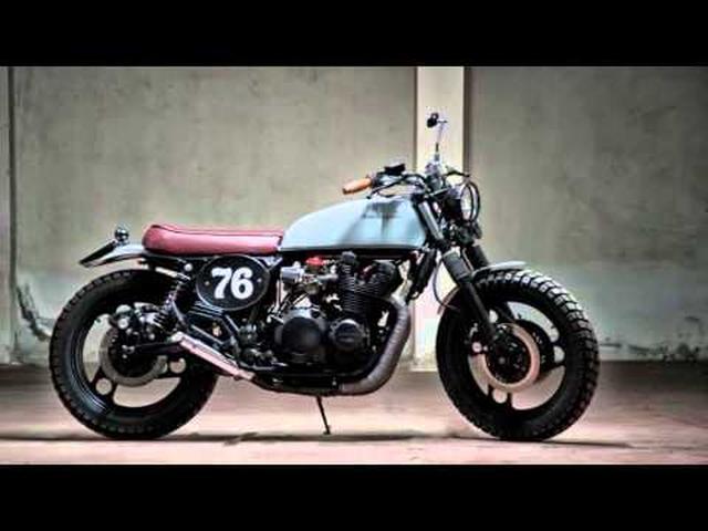 画像: Custom Yamaha XJ900 by Motorecyclos www.youtube.com