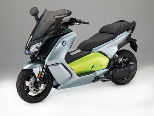 画像: モデル:BMW C evolution 希望小売価格:¥1,487,500 搭載バッテリー:大容量リチウムイオンバッテリー94Ah 上記メーカー希望小売価格は付属品価格、税金(消費税除く)、保険料、登録に伴う諸費用を含まない車両本体価格