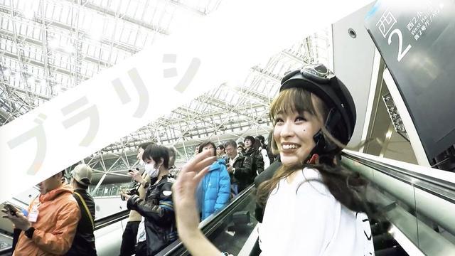 画像2: ブラリジョシ 城田あや編@第44回東京モーターサイクルショー youtu.be