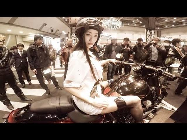画像: ブラリジョシ 小田飛鳥編@第44回東京モーターサイクルショー youtu.be
