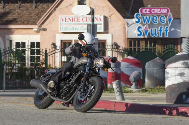 """画像2: """"HONDA REBEL@カリフォルニア"""" 500ccより250&300ccこそが新型レブルの理想って? 『今までのホンダ』とは違う割り切りがスゴい!?"""