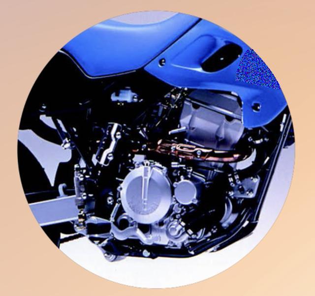 画像3: 【青いあいつ】なんのバイクか、わかるかな?