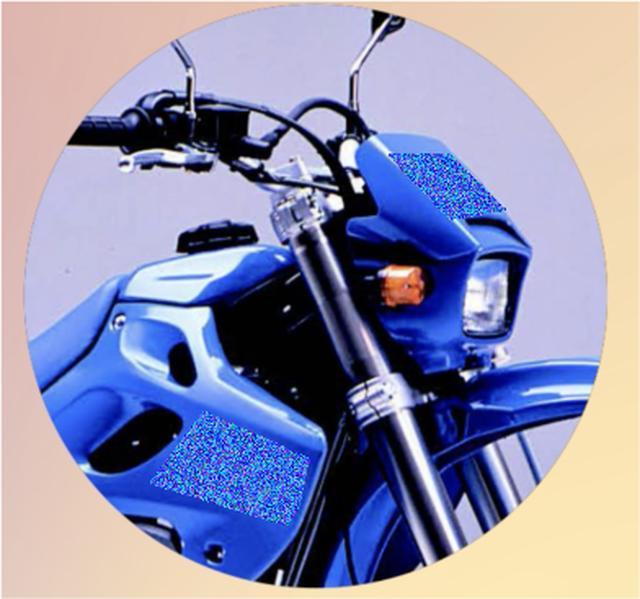 画像2: 【青いあいつ】なんのバイクか、わかるかな?