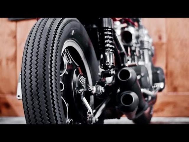 画像: Honda CB750 Custom by MHC Workshop www.youtube.com