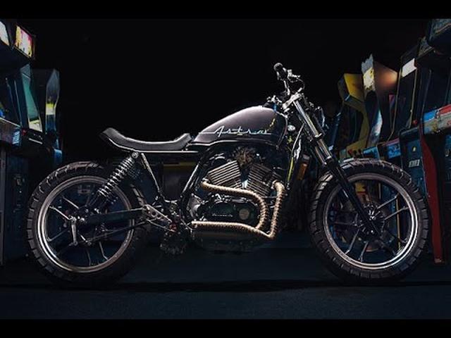 画像: Custom Honda VT500 by One-Up Moto Garage www.youtube.com