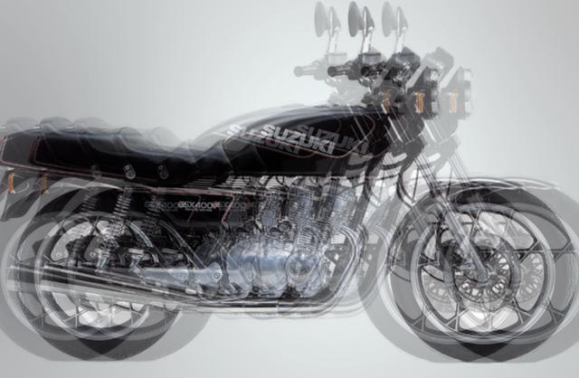 画像2: 【スズキ初の400cc4気筒モデルといえば?】このバイクなーんだ?
