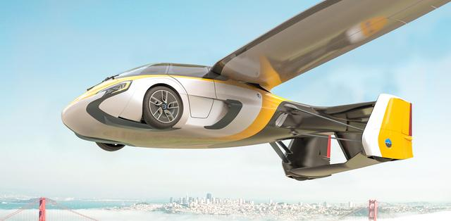 画像: www.aeromobil.com