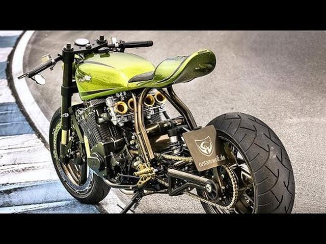 画像: Kawasaki Z1000 by Custom Wolf www.youtube.com