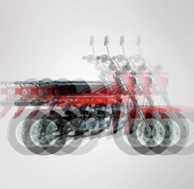 画像2: 【極太タイヤのあいつ】なんのバイクかあててみよう!