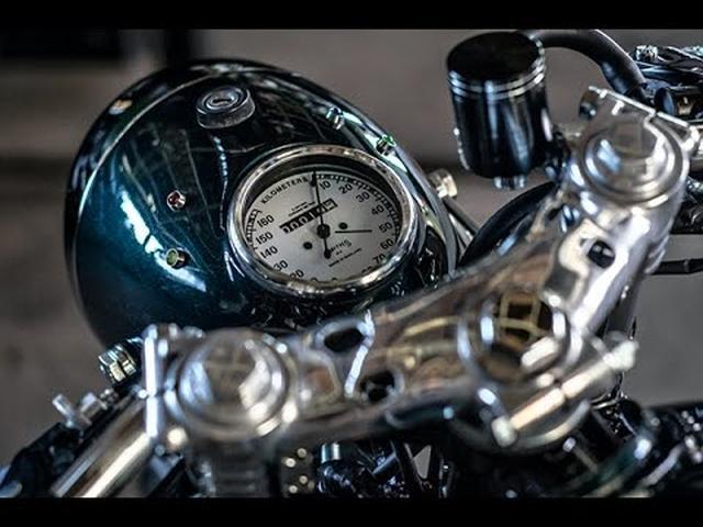"""画像: 恐怖の大ダコの名前を冠したカスタムビルダーのカワサキが""""いい"""" - LAWRENCE - Motorcycle x Cars + α = Your Life."""