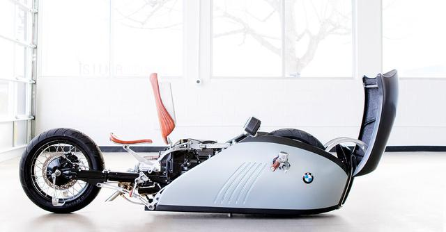画像: Exclusive: The BMW 'Alpha' land speed motorcycle concept
