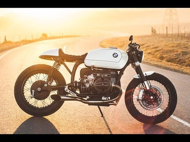 画像: BMW R100 RT Custom Cafe Racer by Mark Johnston www.youtube.com