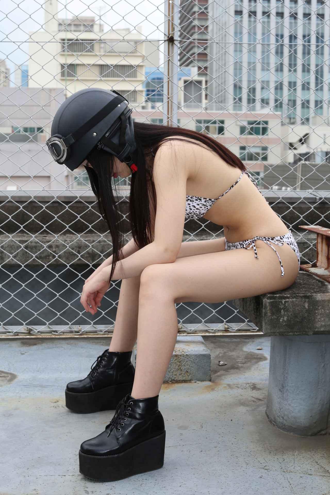 画像2: グラビア【ヘルメット女子】New Girl vol.02