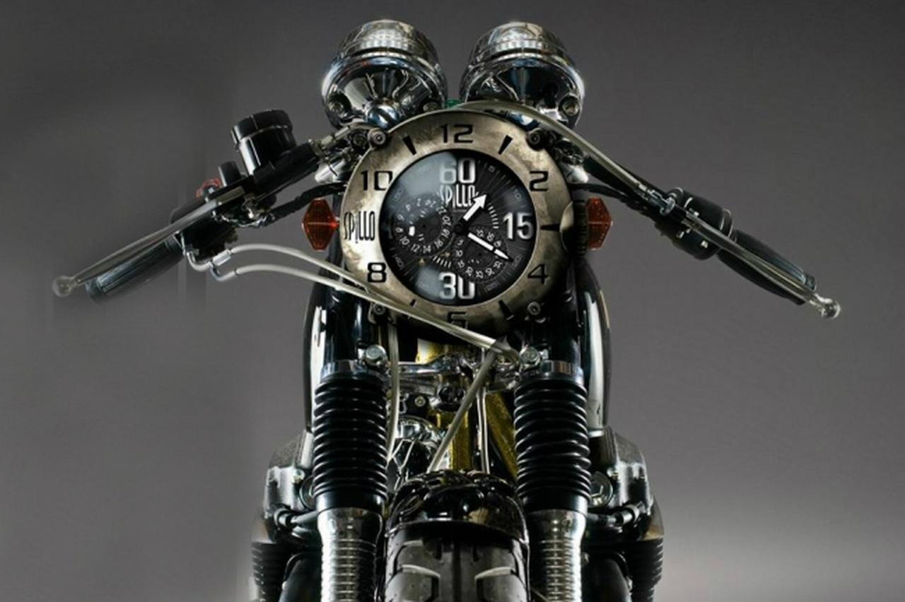 画像: イタリアの時計ブランド スピーロ(SPILLO)がモトーリモーダ 銀座で取り扱い開始! - LAWRENCE - Motorcycle x Cars + α = Your Life.
