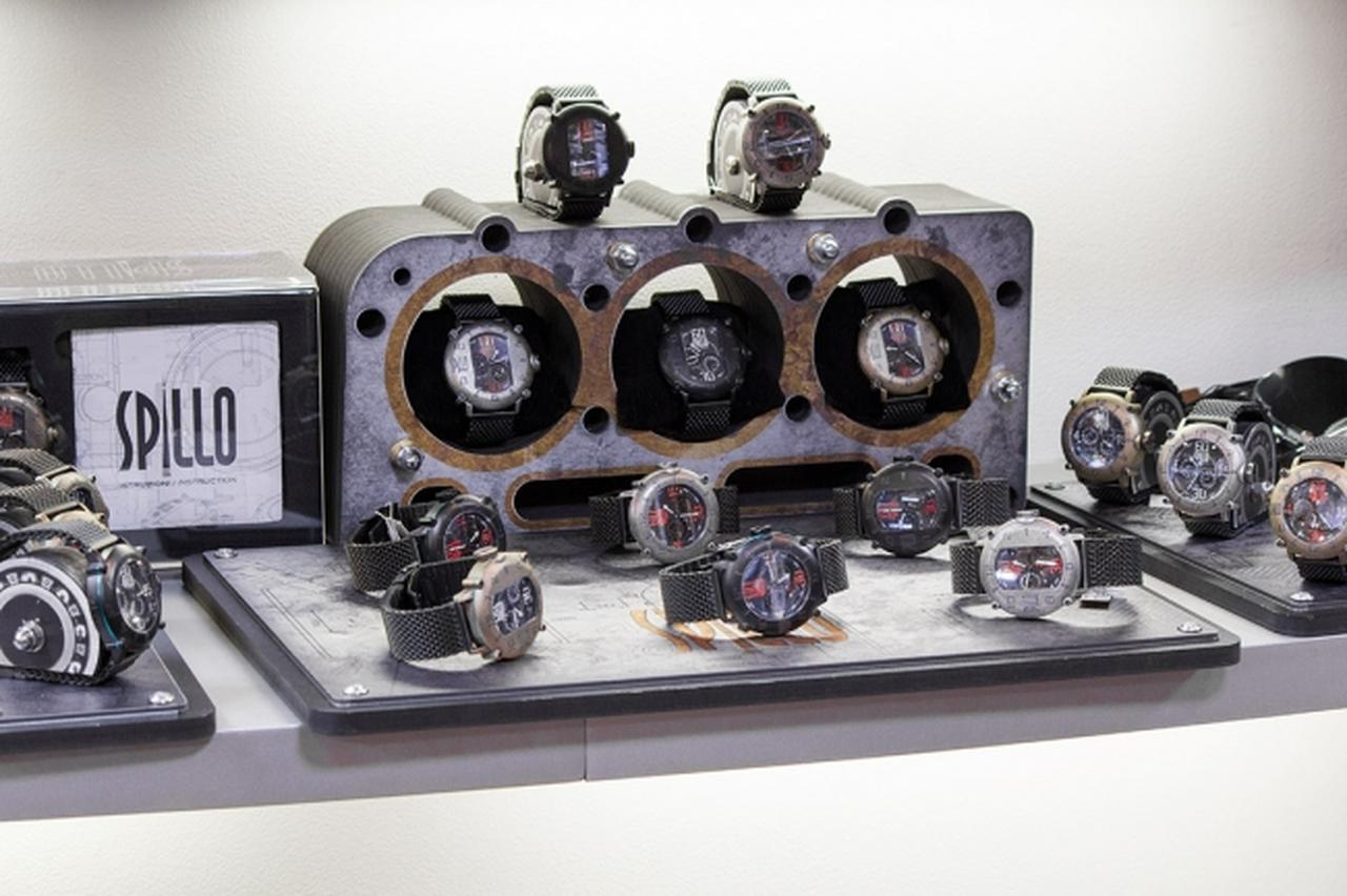 画像: モトーリモーダ(Motorimoda) 銀座が、イタリアの時計ブランド スピーロ(SPILLO)の正規販売店として取扱いをスタート