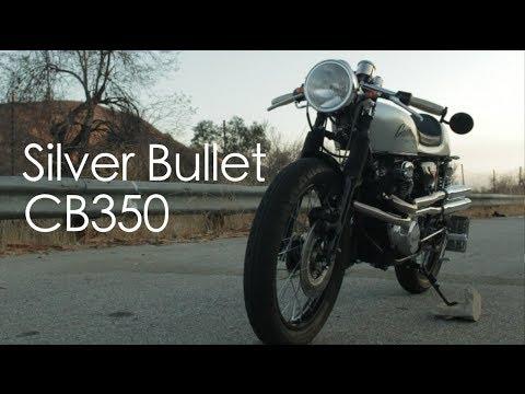 画像: Silver Bullet: A Honda CB350 Reborn www.youtube.com