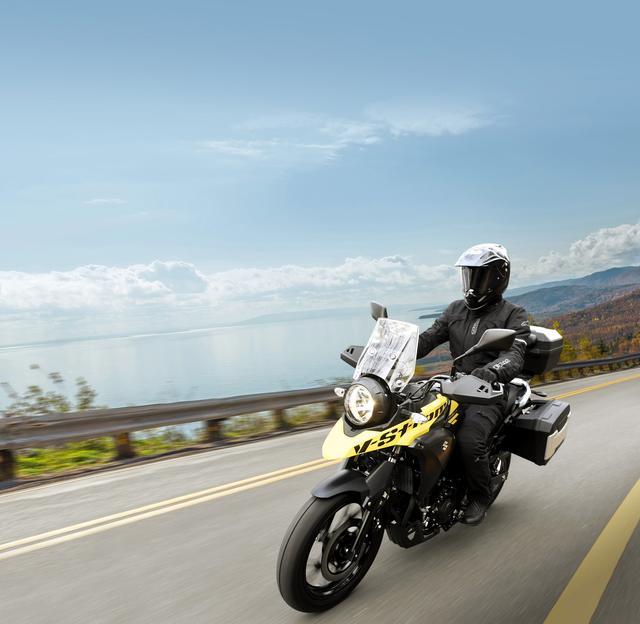 画像1: 男前! 丸目1灯のワイルド冒険バイク