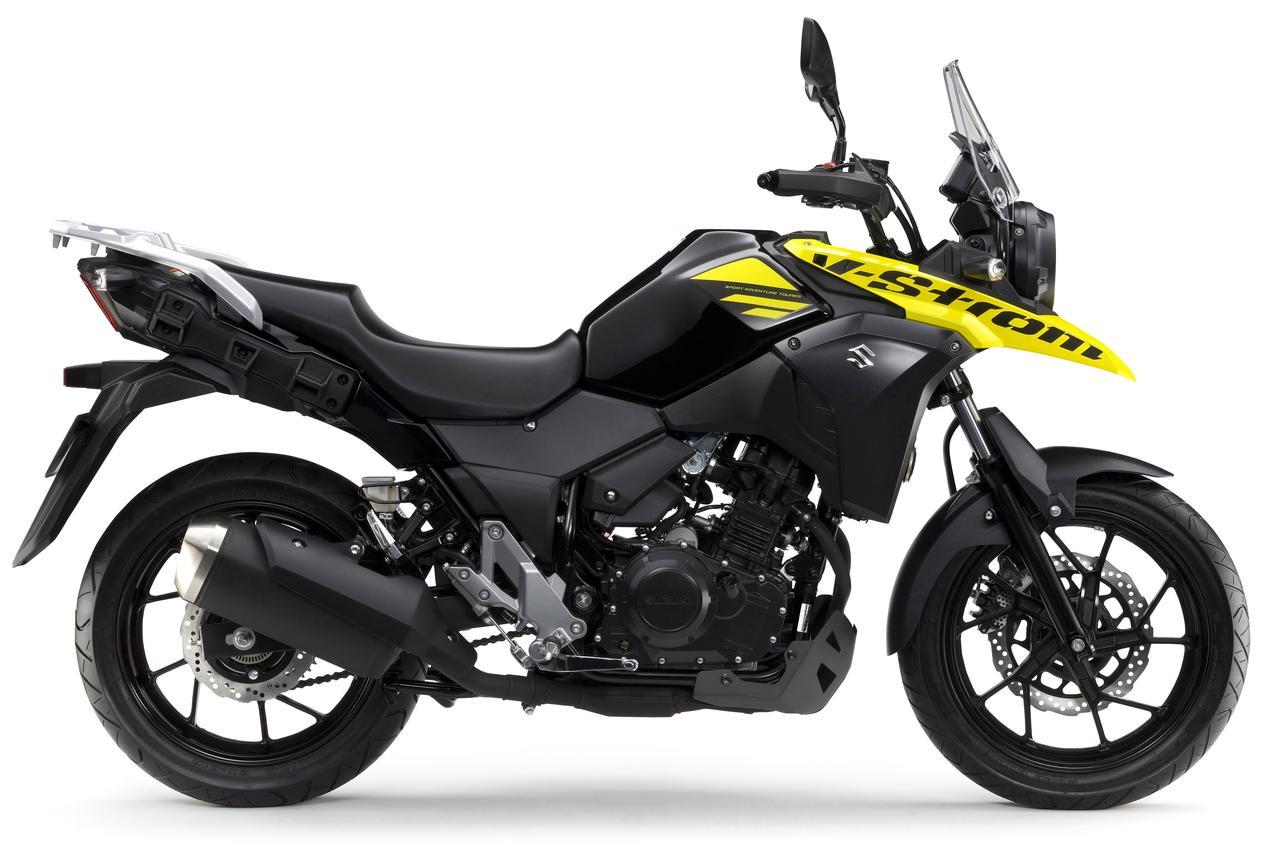 画像1: 航続距離500kmオーバー!? の最強250cc旅バイク。 謎多きスズキ『Vストローム250』がヴェールを脱いだ!