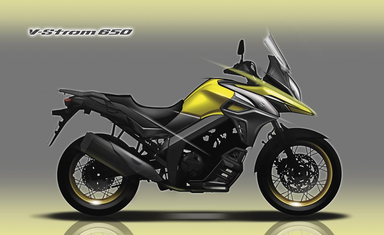 画像: Vストローム650/XTはデザインがステキなんです。