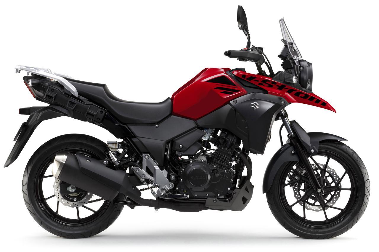 画像2: 航続距離500kmオーバー!? の最強250cc旅バイク。 謎多きスズキ『Vストローム250』がヴェールを脱いだ!