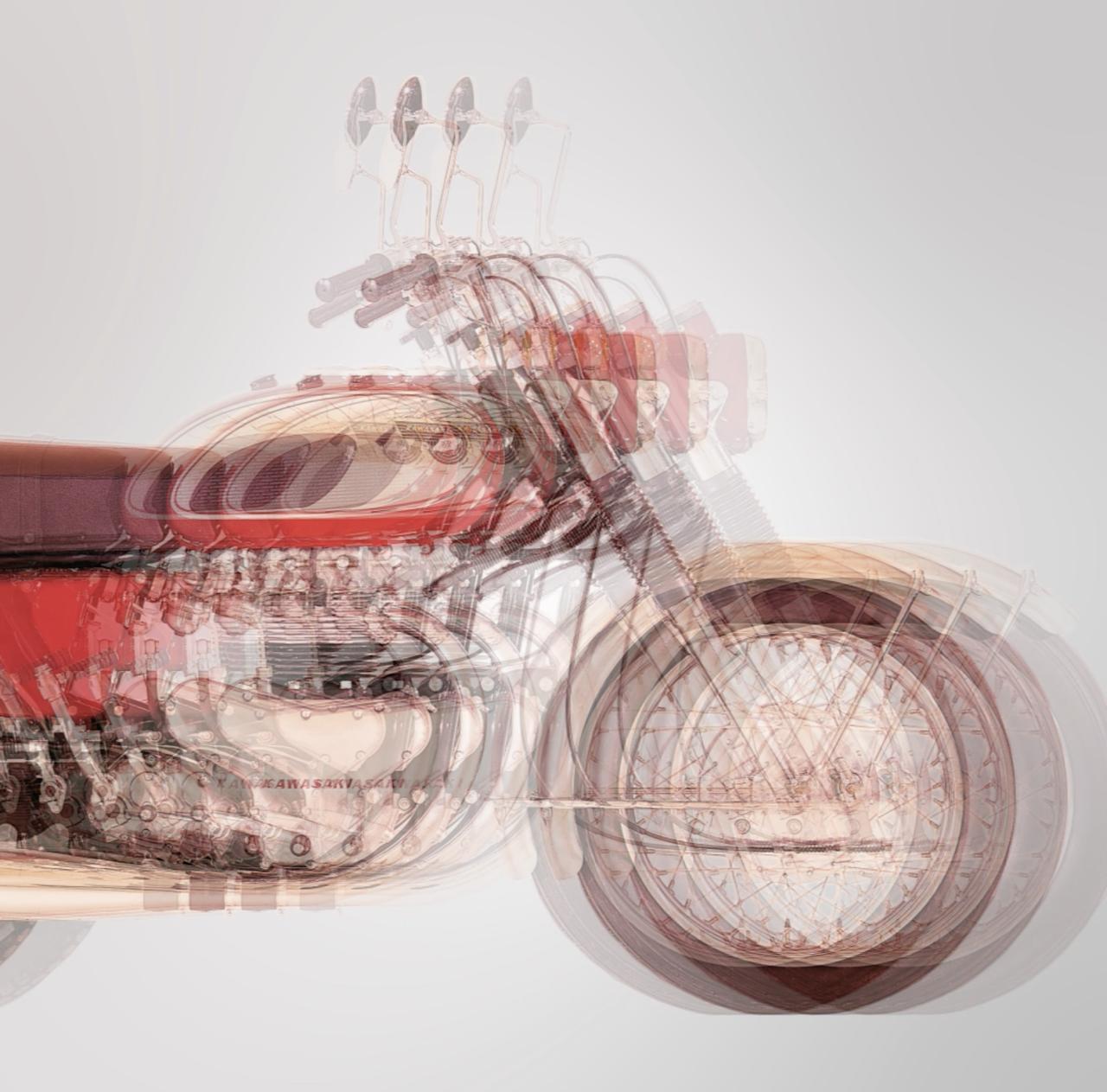 画像1: メグロK2型500ccがベースですよ。これなーんだ?