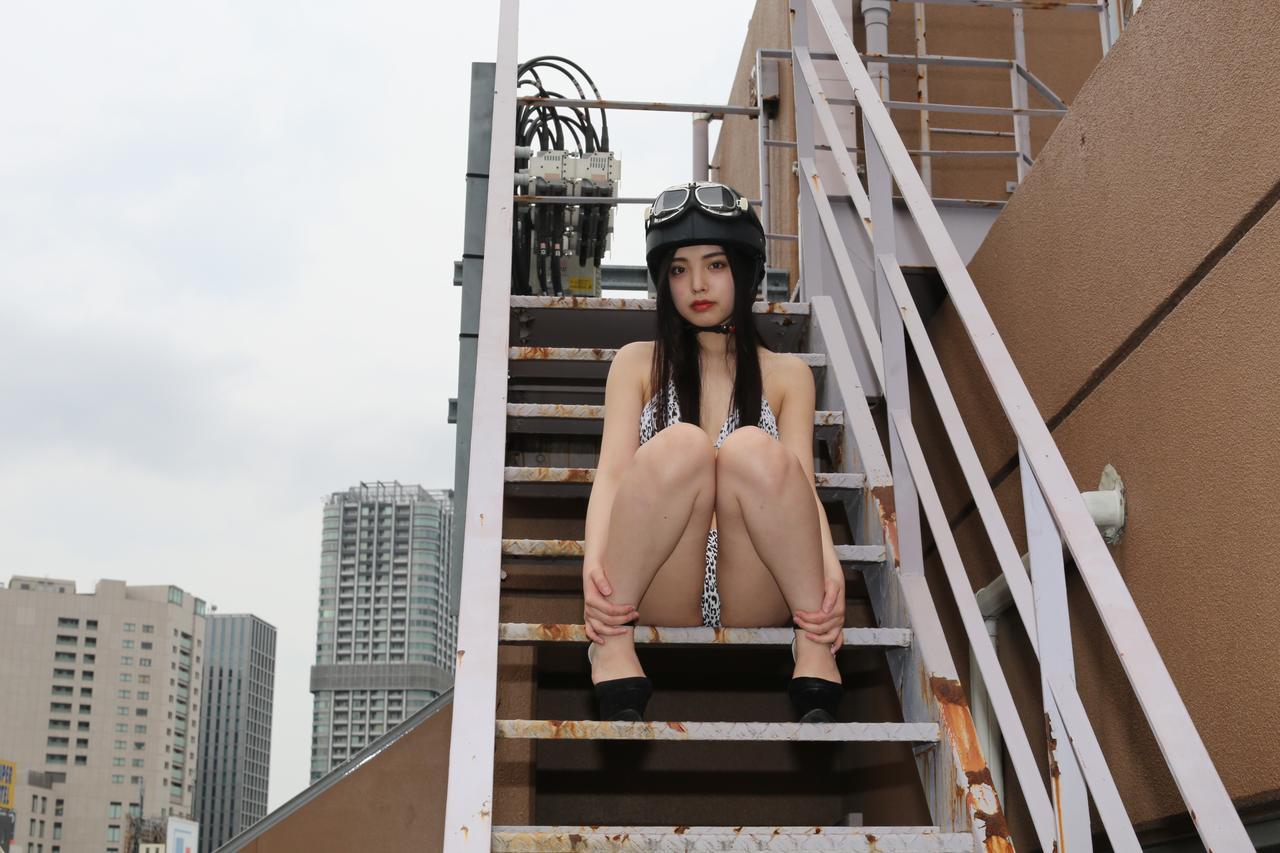 画像2: グラビア【ヘルメット女子】New Girl vol.13