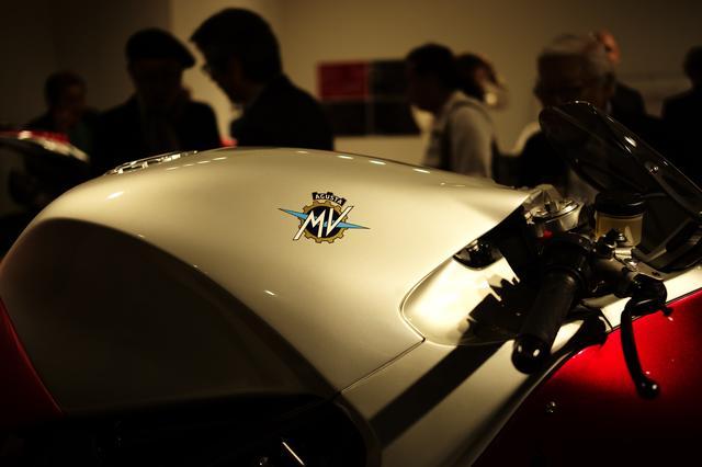 画像: MVアグスタのロゴがアクセントで可愛い
