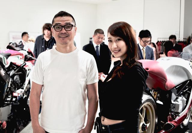 画像: 荒川眞一郎さま:ライダースファッションブランド「SHINICHIRO ARAKAWA」デザイナー