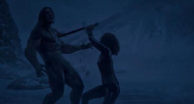 画像: ライカンのリーダー マリウスと戦うセリーン bd-dvd.sonypictures.jp