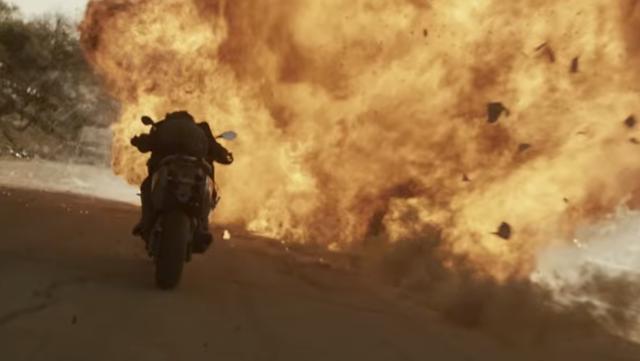 画像: ミラ・ジョヴォヴィッチの華麗なオートバイアクションも見もの。