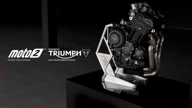 画像: Introducing the Triumph Moto2 765cc triple engine youtu.be