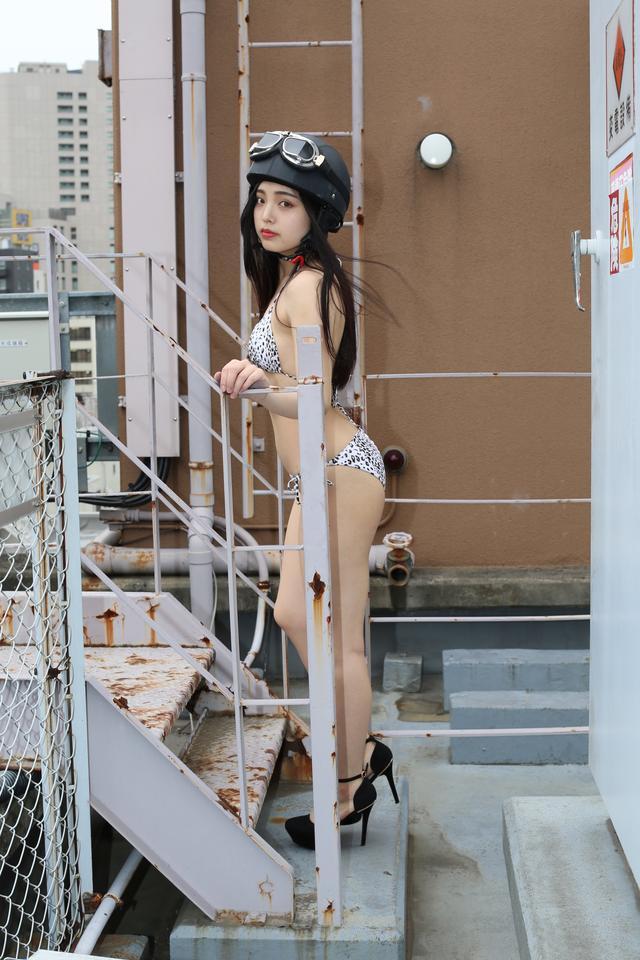 画像1: グラビア【ヘルメット女子】New Girl vol.17