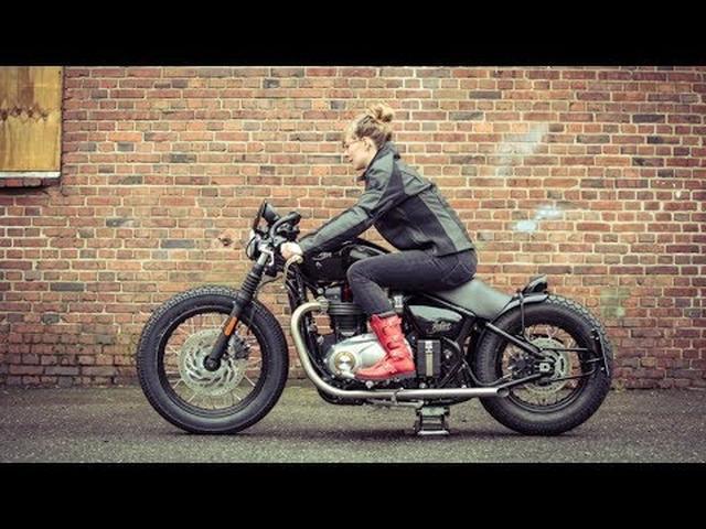 画像: Custom Triumph Bonneville Bobber by Hanse Qustom www.youtube.com