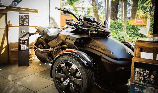 画像1: BRP『Can-Am Spyder F3-S Special Series』