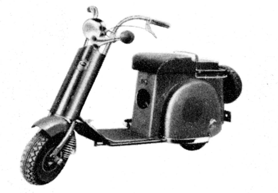 画像: 富士工業 ラビットS-23(1949年発売)