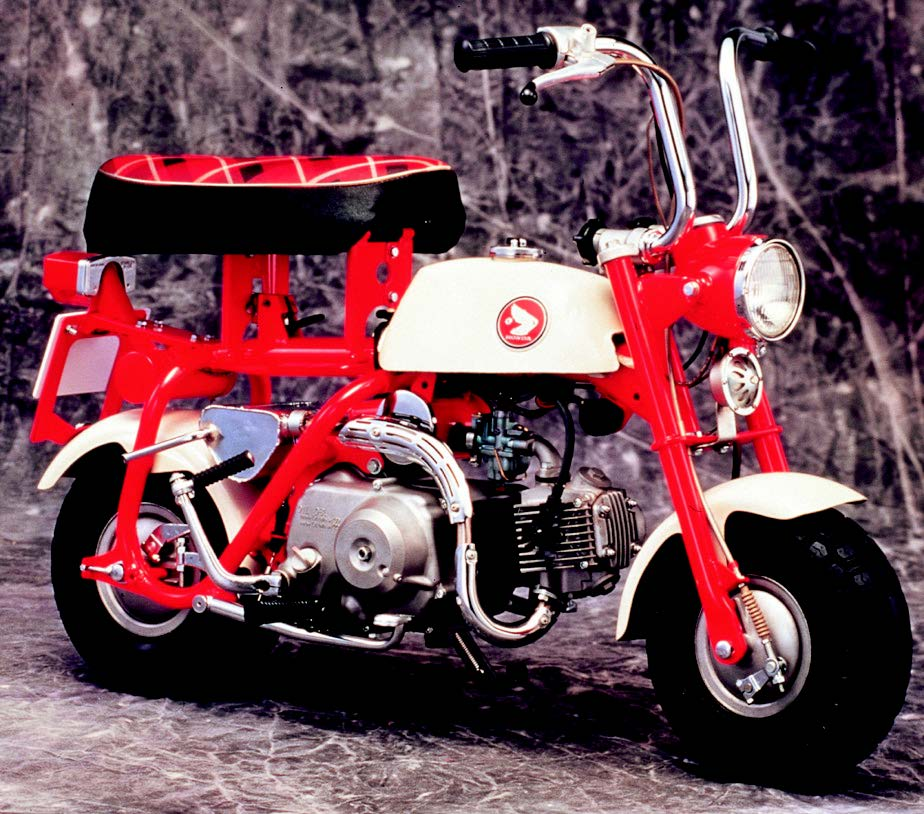 画像: まずはHONDA モンキーZ50M(1967年3月発売)