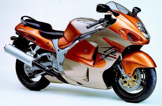 画像: SUZUKI GSX13000Rハヤブサ(1999年発売)