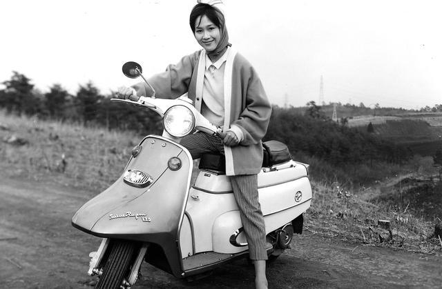 画像: 新三菱 シルバーピジョン130(1962年発売)