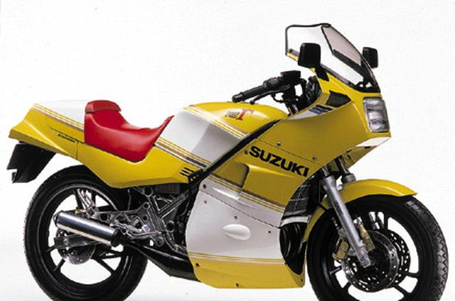 画像: こちらは SUZUKI RG250Γ(1984年4月)