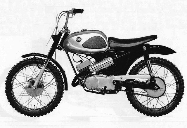 画像: ブリヂストン ブリヂストン90スクランブラー(1965年発売)