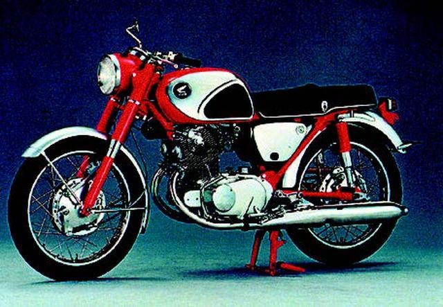 """画像5: 世界のホンダの第一歩。""""ドリーム""""の名を冠したマシンたち(1949年〜1970年版)"""