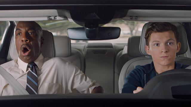 """画像: Audi """"Driver's Test"""" - Spider-Man: Homecoming www.youtube.com"""
