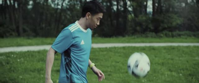画像: ストイックに練習する真司♡ www.youtube.com