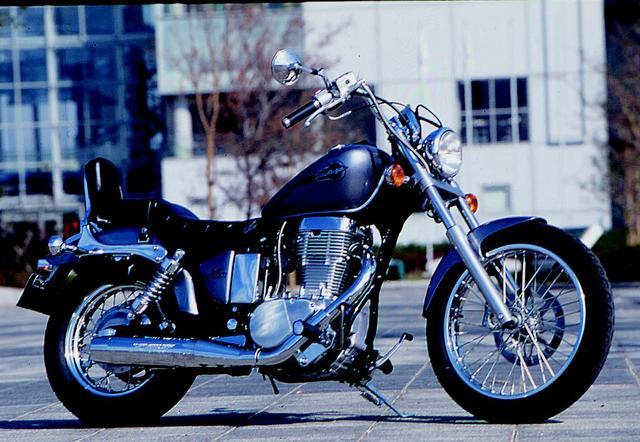 画像: SUZUKI サベージ400/1995年9月発売