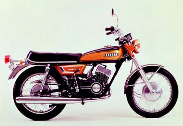 画像: YAMAHA RX350/1971年8月発売