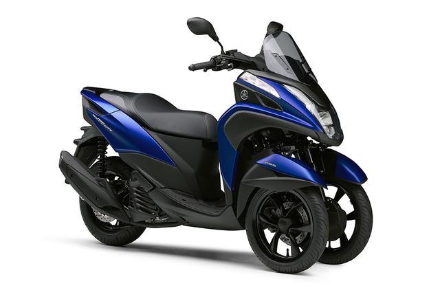 画像: 早くも年間目標台数に到達したヤマハ「トリシティ155」 金額(税込):¥453,600~ 全国のヤマハ発動機販売店で販売中 global.yamaha-motor.com
