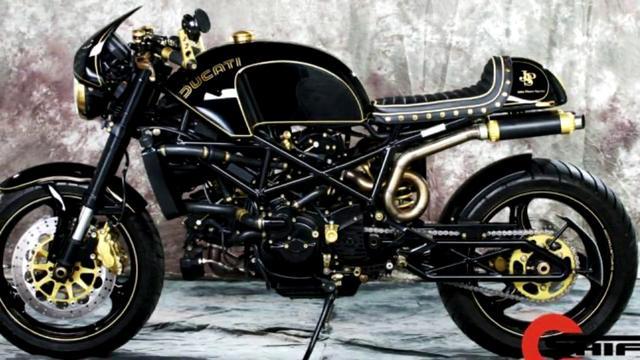 画像: Ducati By Shif Custom www.youtube.com