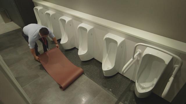 """画像5: """"働きながら、トイレ休憩中でも・・人目を気にせず鍛える""""!? ショップジャパンの提案が筋肉すぎる!!"""
